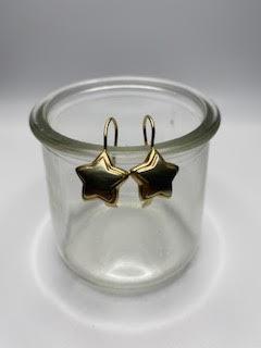 Gold Star Earring