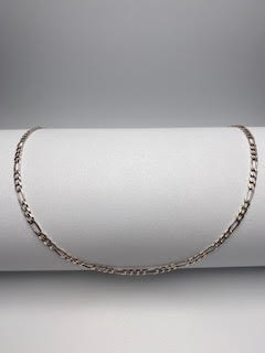Sterling Silver Linked Necklace