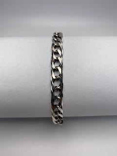 Sterling Silver Linked Bracelet