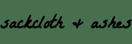 Slackcloth and ashes logo