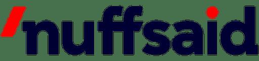 Nuffsaid logo
