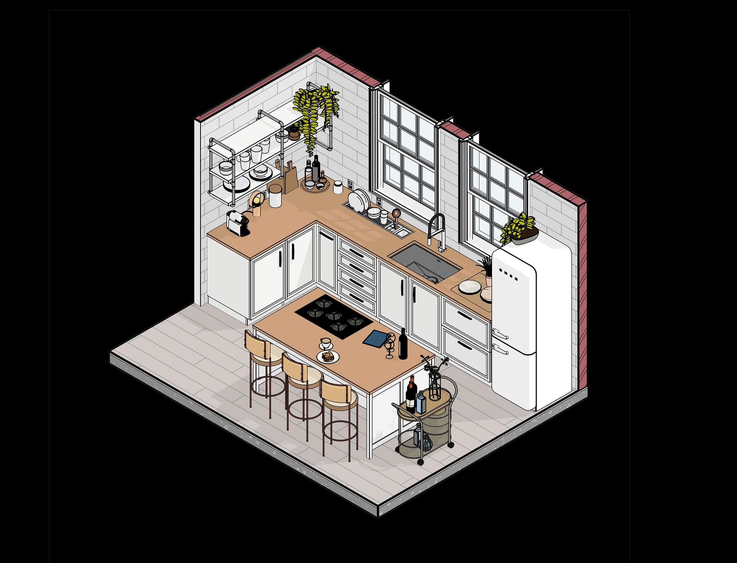 Famílias Paramétricas para Projetos de Interiores
