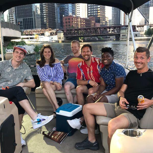 boat team photo