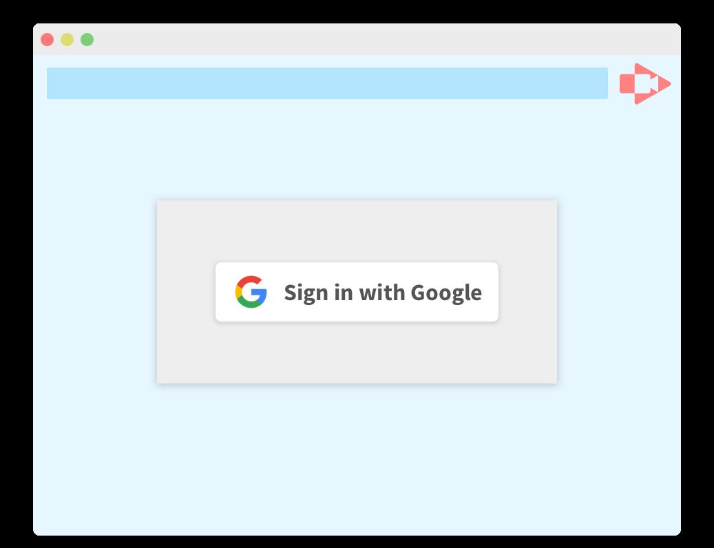 google sign in integration
