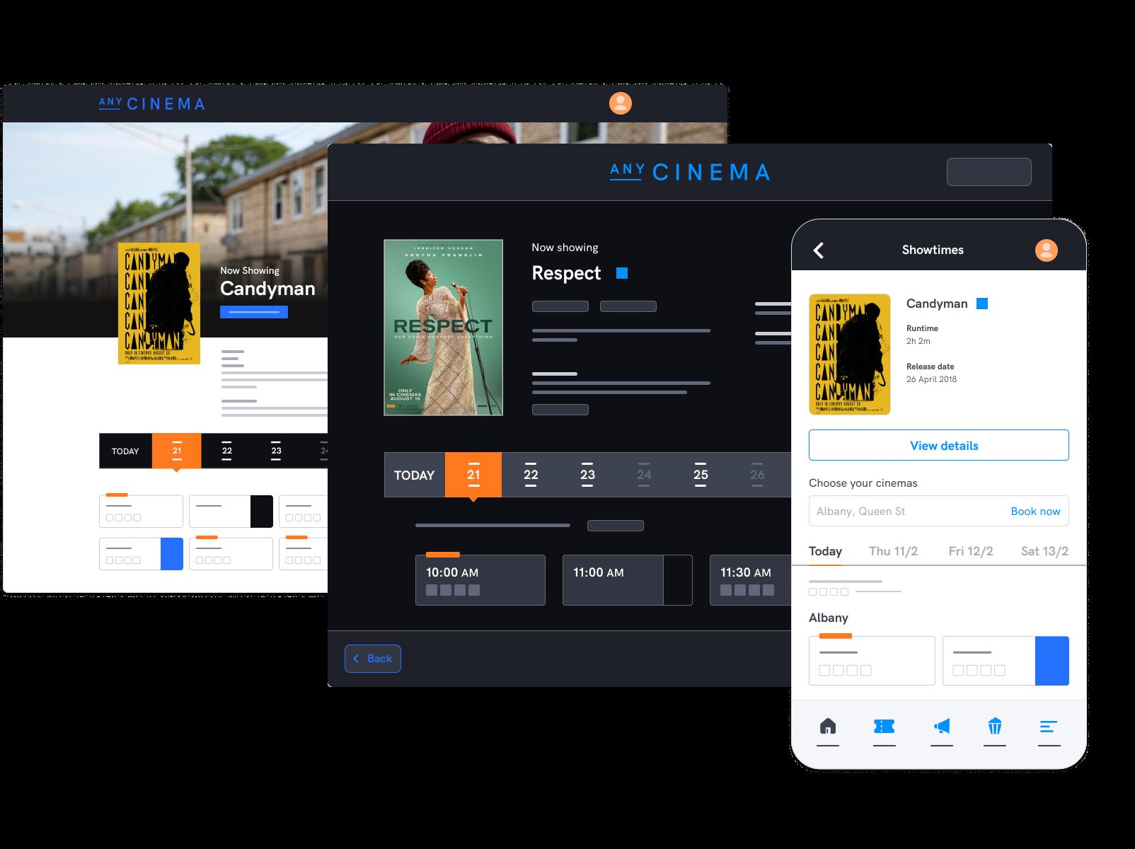 Award-winning self service channels for cinemas