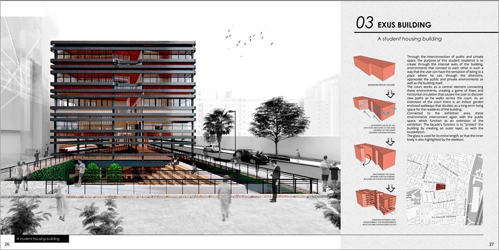 Marina Araújo - portifólio Exus Building