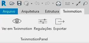 Interface Twinmotion