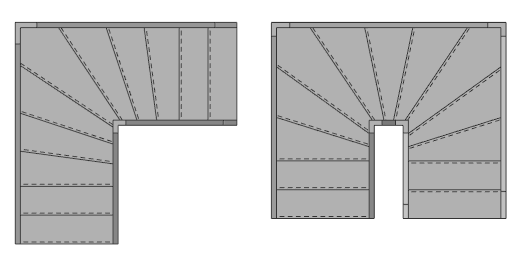 TYPES OF STAIRS