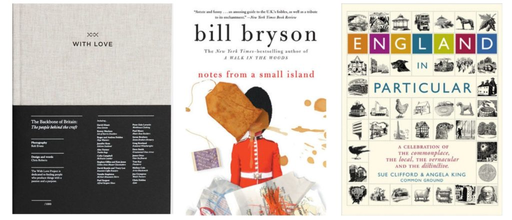 Books on the UK for a sustainable Christmas gift