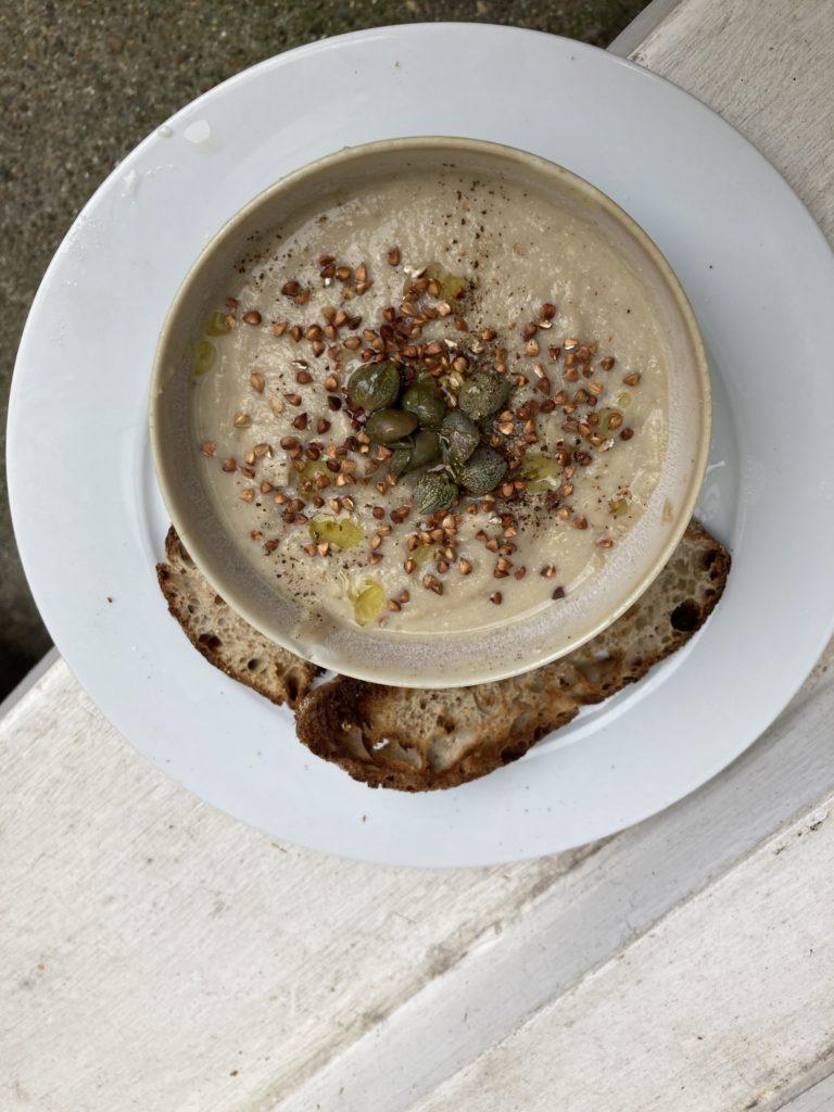 celeriac soup for the holidays