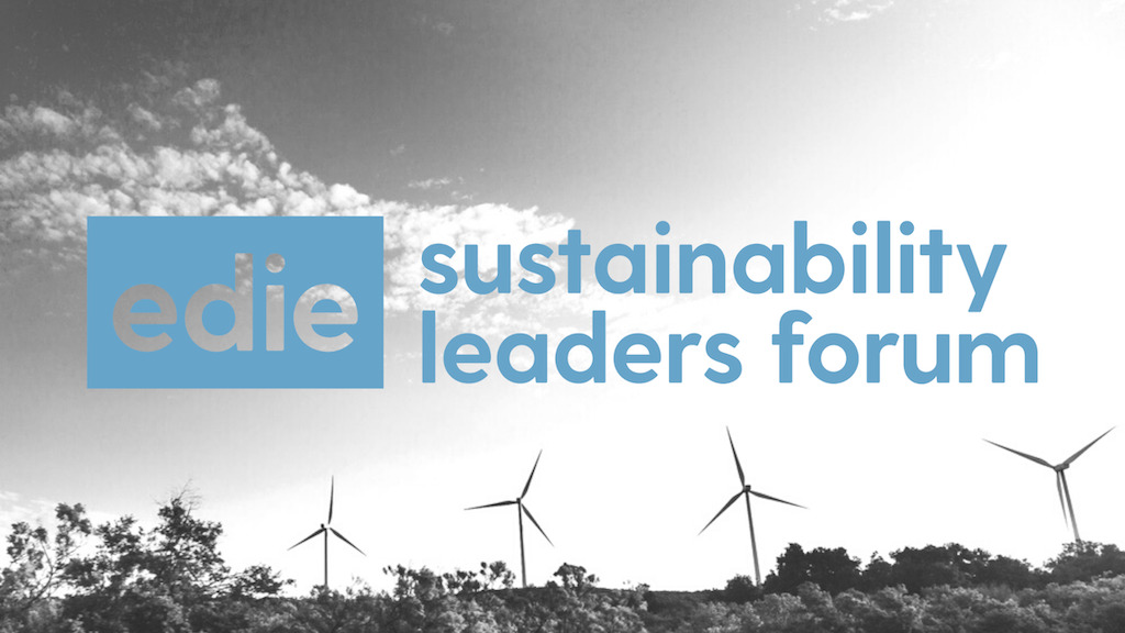 5 key themes at Edie's Sustainability Leaders Forum 2021