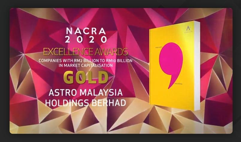 National Annual Corporate Report Awards (NACRA) 2020