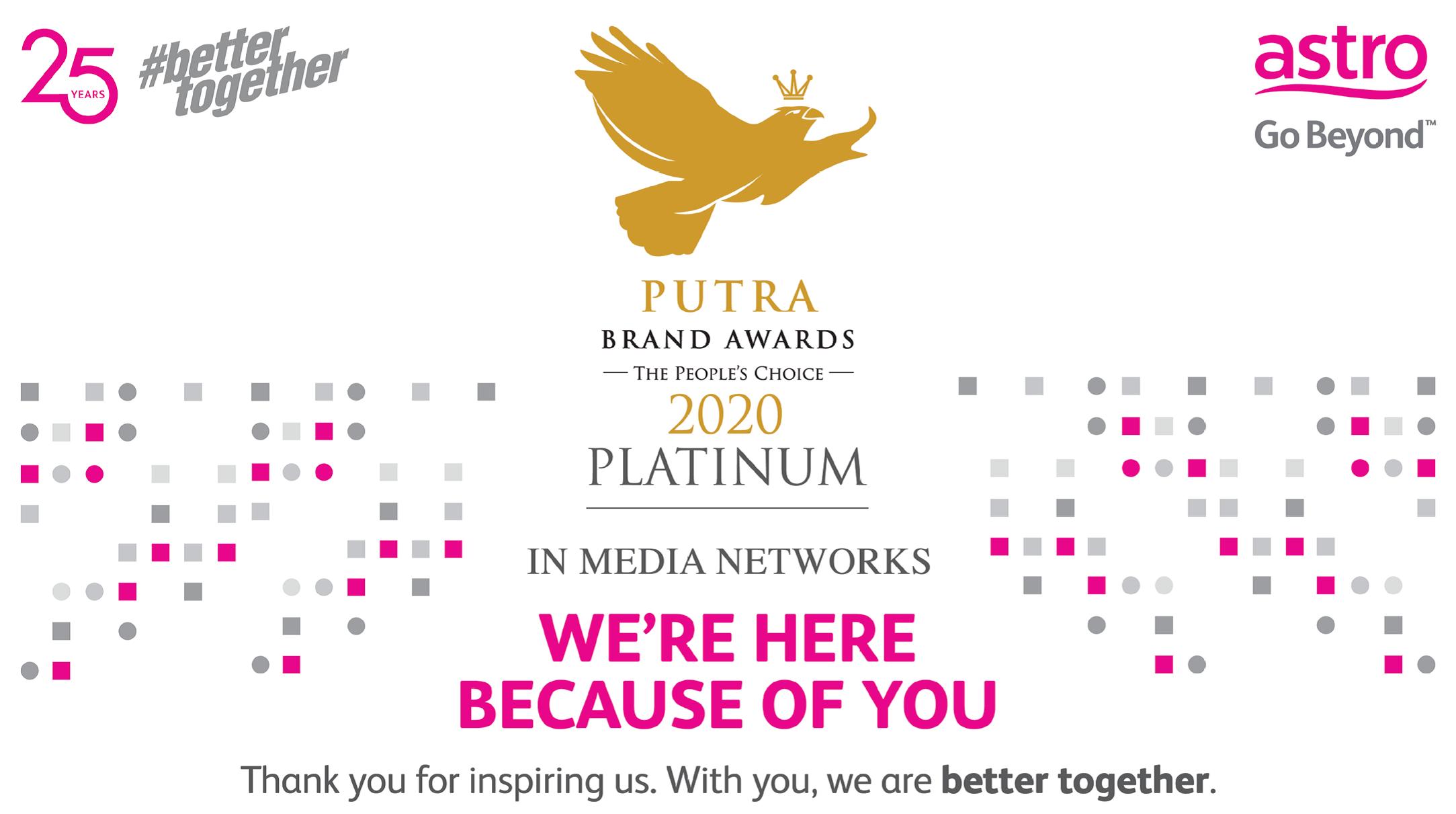 Putra Brand Awards 2020