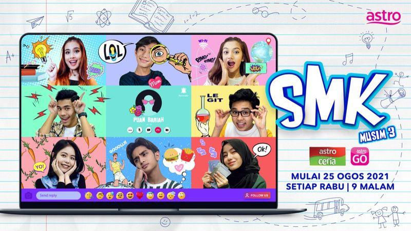 Astro SMK Kembali Untuk Musim Ketiga Dengan Pengisian Kandungan Yang Lebih Menarik & Segar, Diceriakan Lagi Dengan Kehadiran Watak-Watak Baharu!