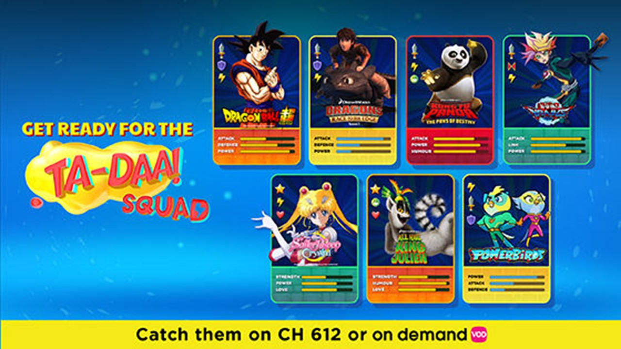 Enjoy popular kids' favourites Dragon Ball Super, Sailor Moon Crystal, Yu-Gi-Oh! VRAINS, Kung Fu Panda and more this school holidays on Astro