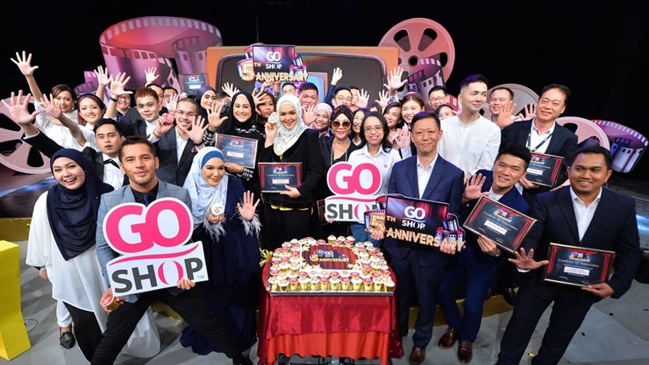 Go Shop celebrates its 5th Anniversary with more than 2 million customers and storewide discounts