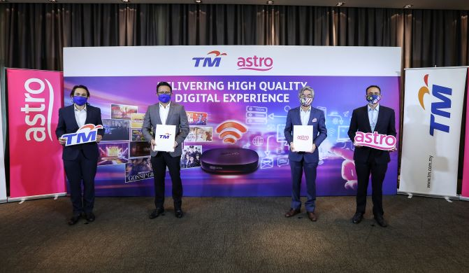 TM & ASTRO COLLABORATE TO DELIVER HIGH QUALITY DIGITAL EXPERIENCE