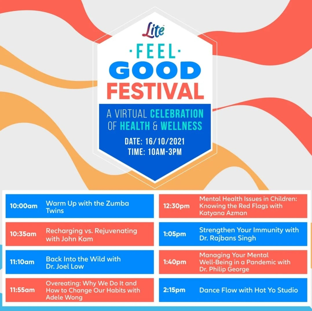 Celebrate health and wellness with Lite FM Feel Good Festival
