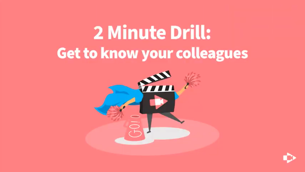 Learn About Your Colleagues Through Video