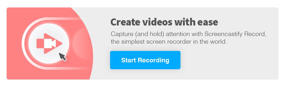 Go to Screencastify Record