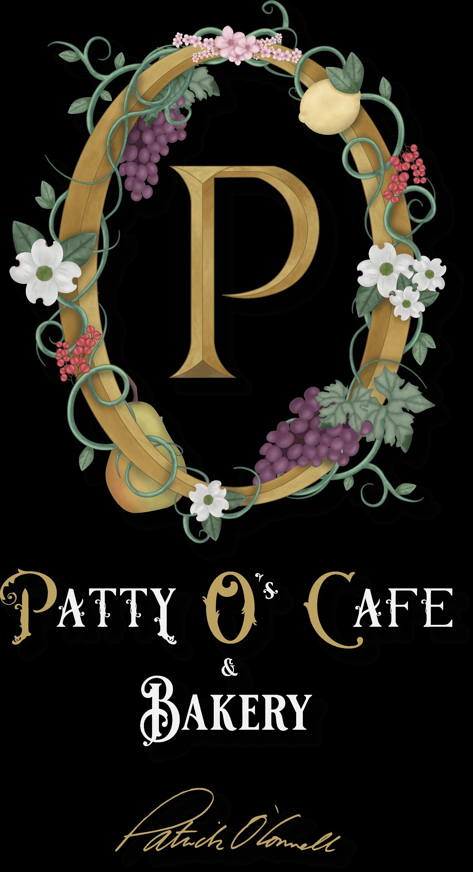 The Patty O's Cafe and Bakery logo