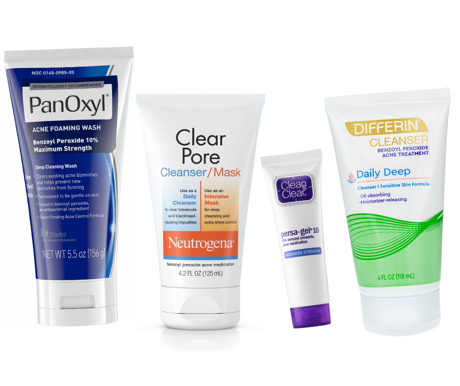 Using acne washes with tretinoin