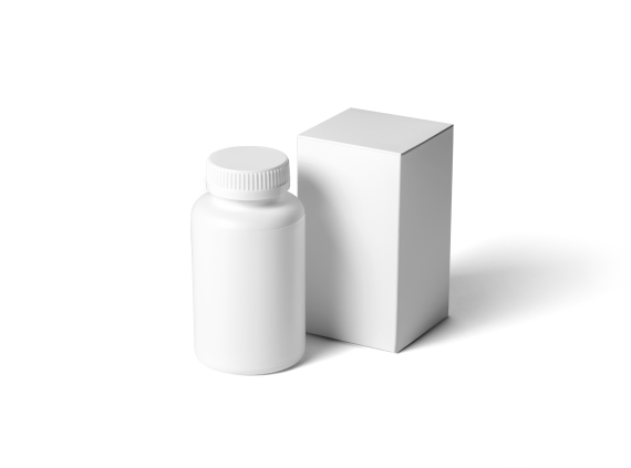 Pill Bottle and Box