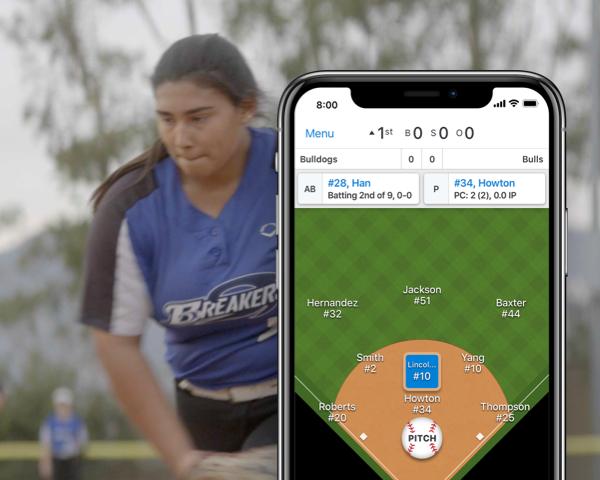 Softball Scorekeeping App