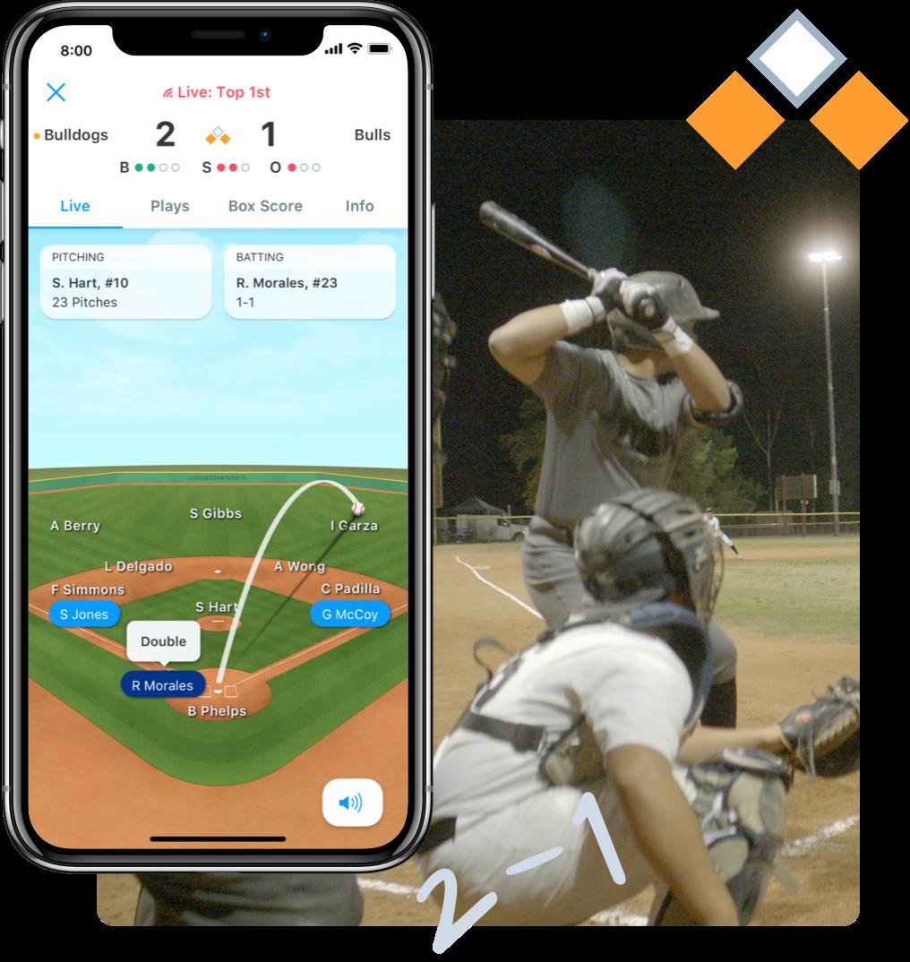 Baseball Animated GameStream