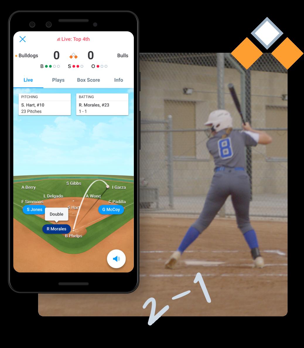 Softball Animated GameStream