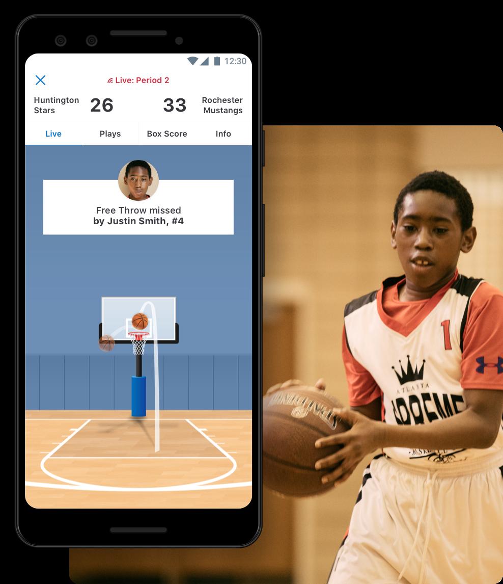 Basketball Animated GameStream