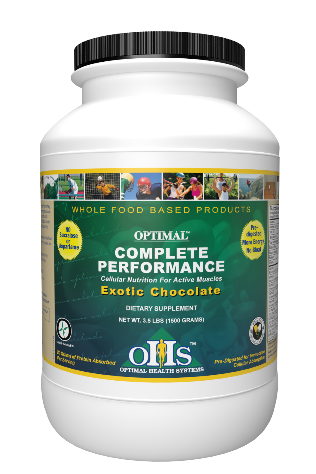 Optimal Complete Performance-Exotic Chocolate