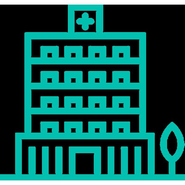 health building icon