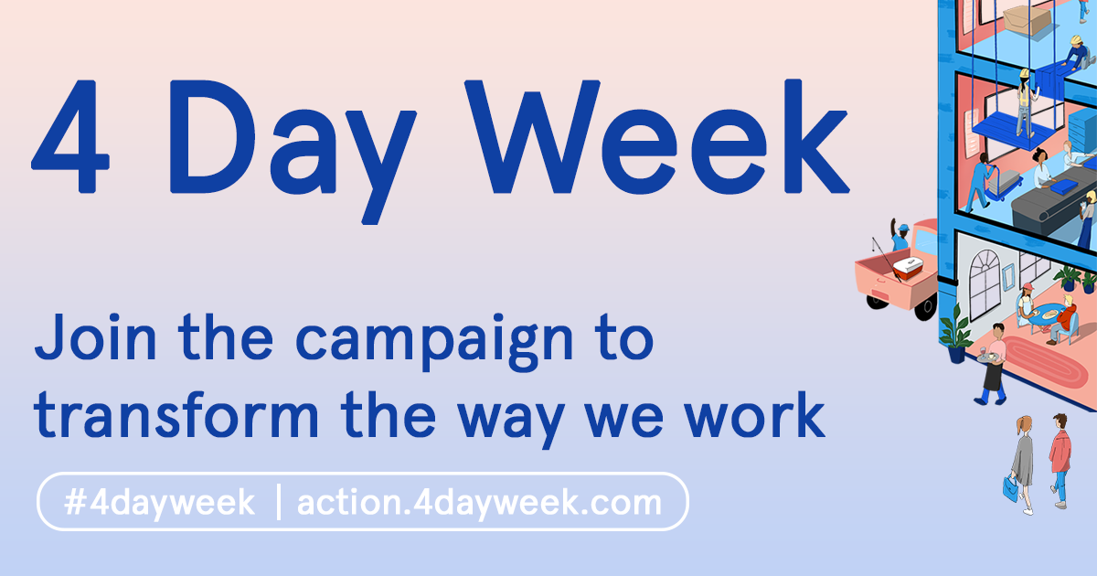 The Global 4 Day Week Campaign Officially Launches