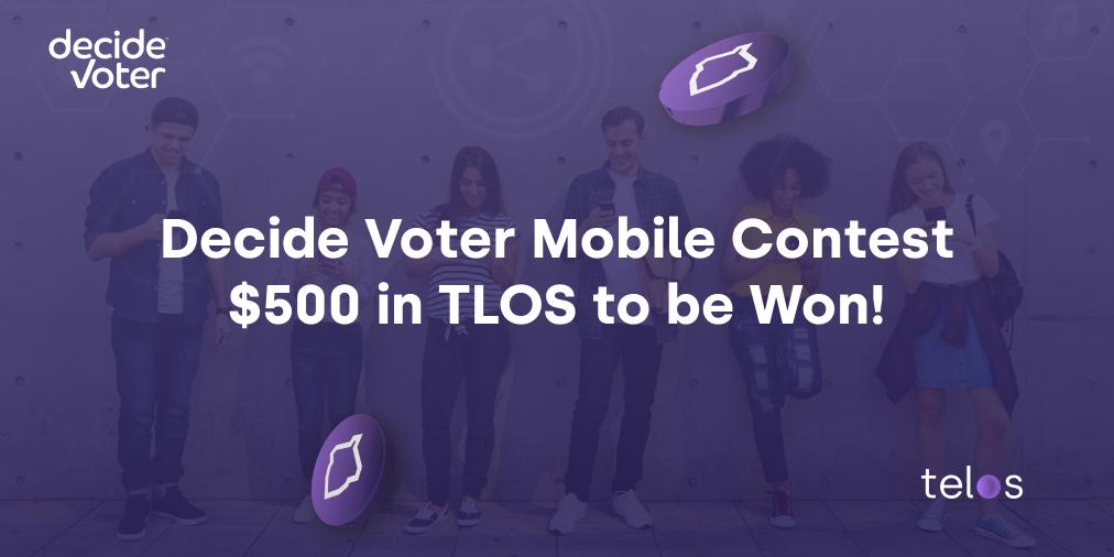 Decide Voter Contest! - Win TLOS