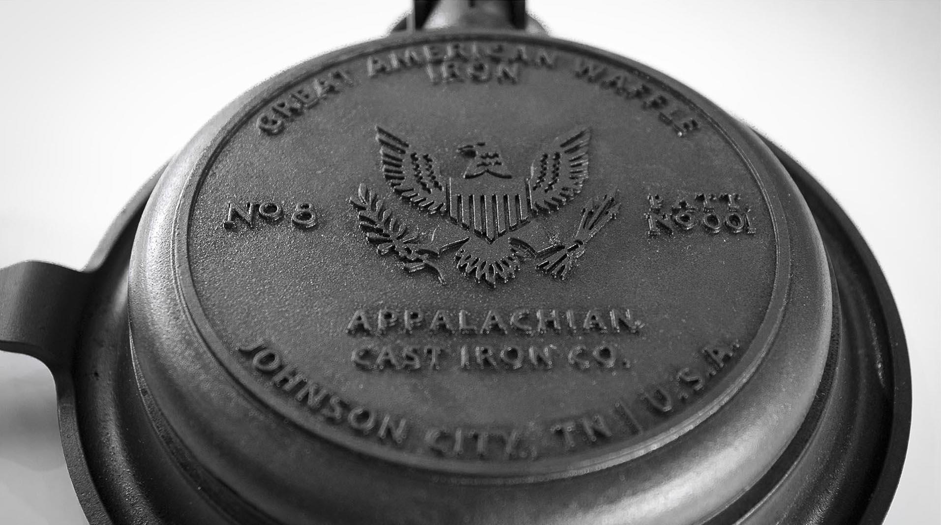 Great American Waffle Iron patriotic design detail