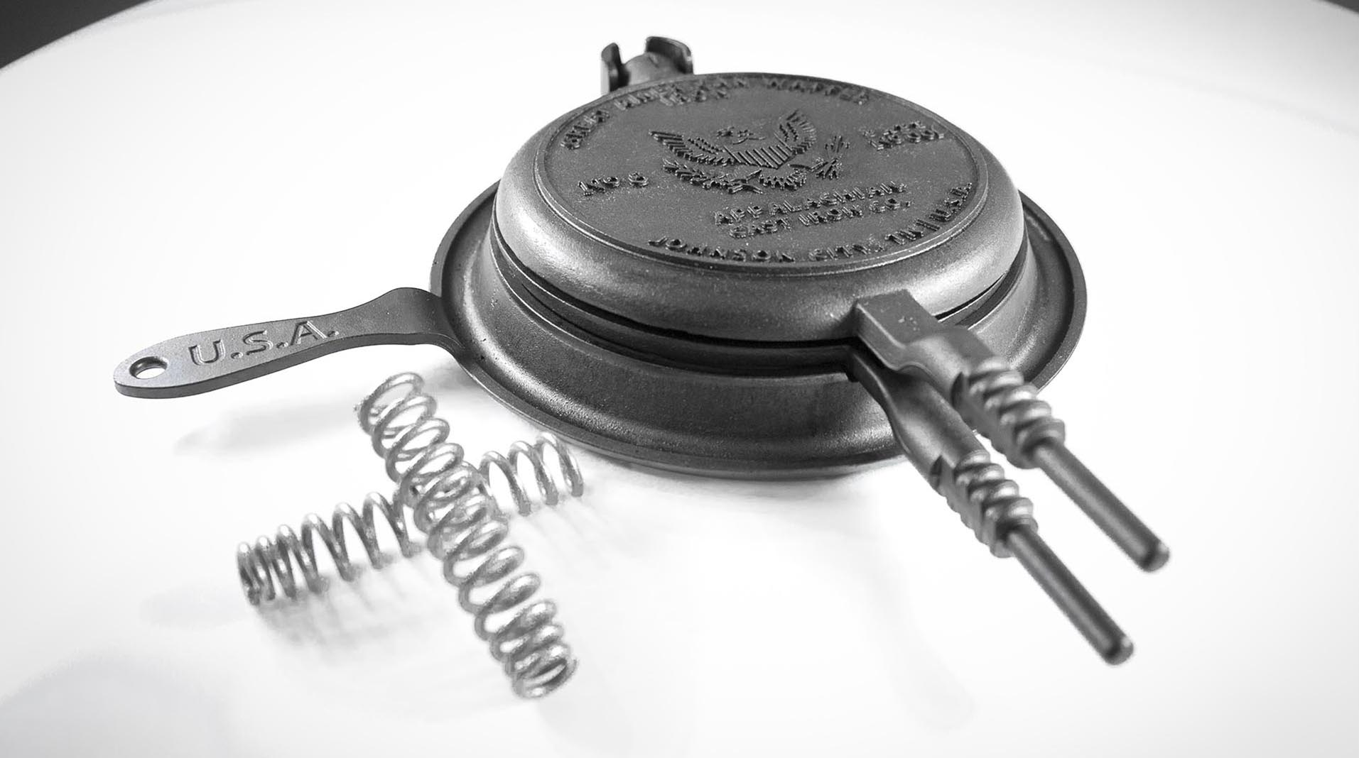 Great American Waffle Iron with springs