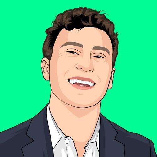 Illustration of Teddy Dulchinos