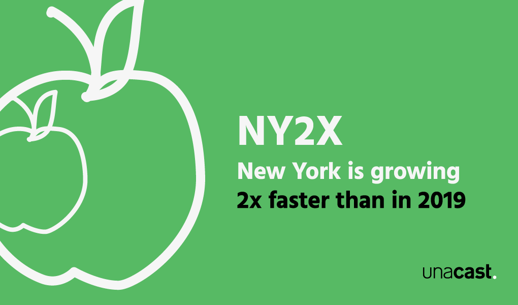 Cover of NY2X report