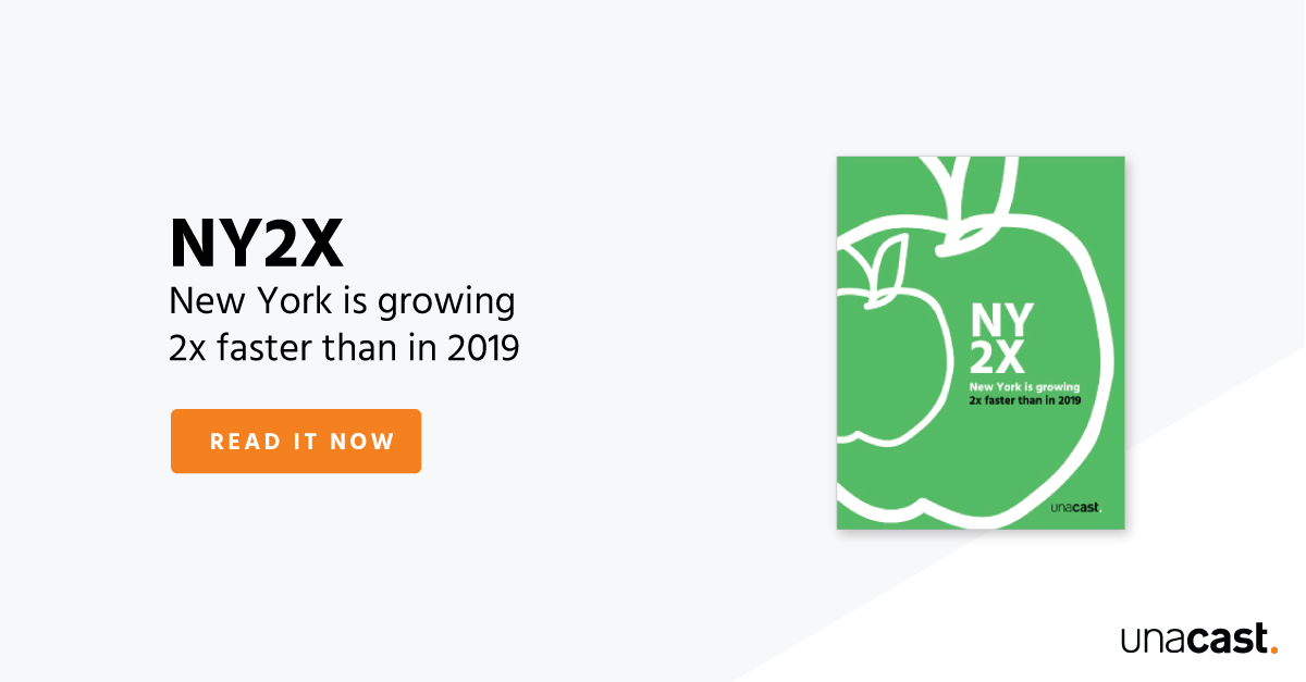 NY2X - New York is growing 2x faster than in 2019