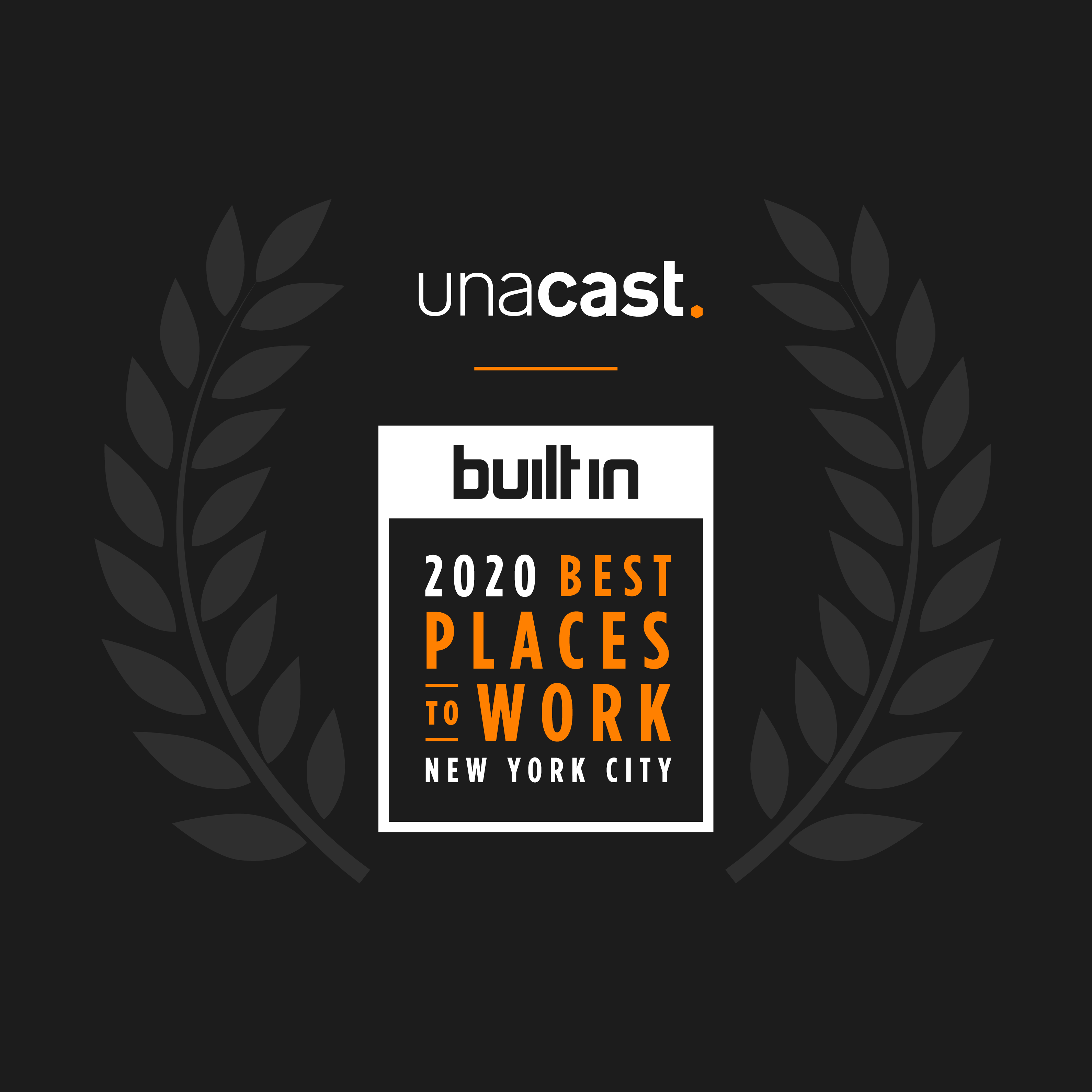 """Unacast Named One Of The """"Top 10 Small Companies To Work For"""" In NYC"""