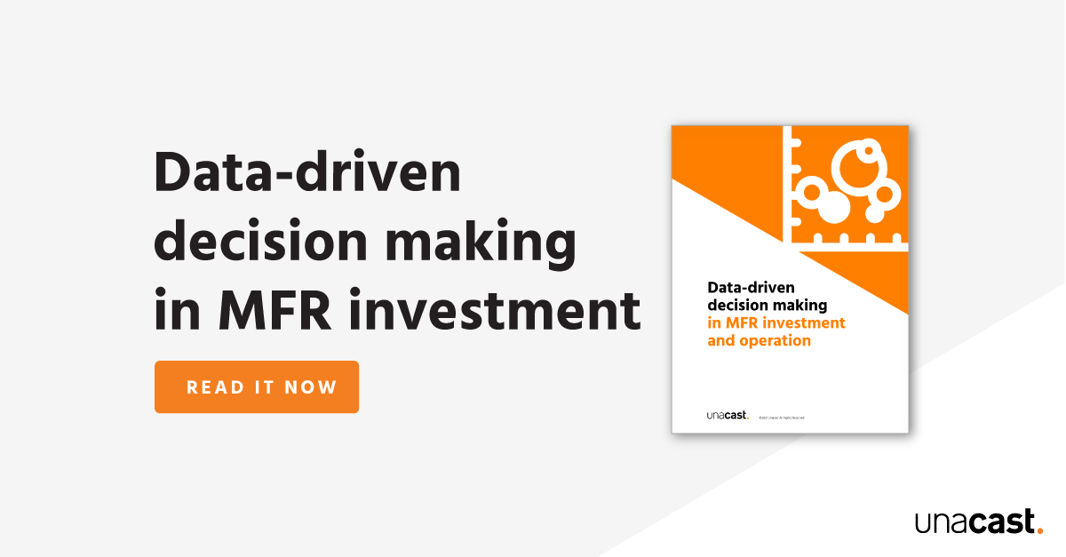 Data-driven decision making in MFR investment and operation