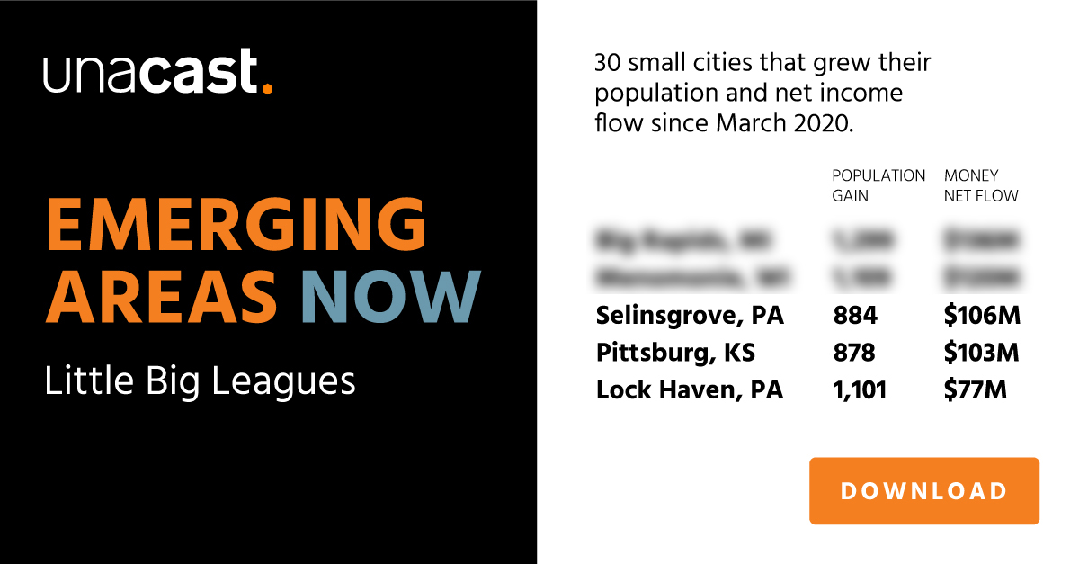 Emerging Areas Now: Little Big Leagues
