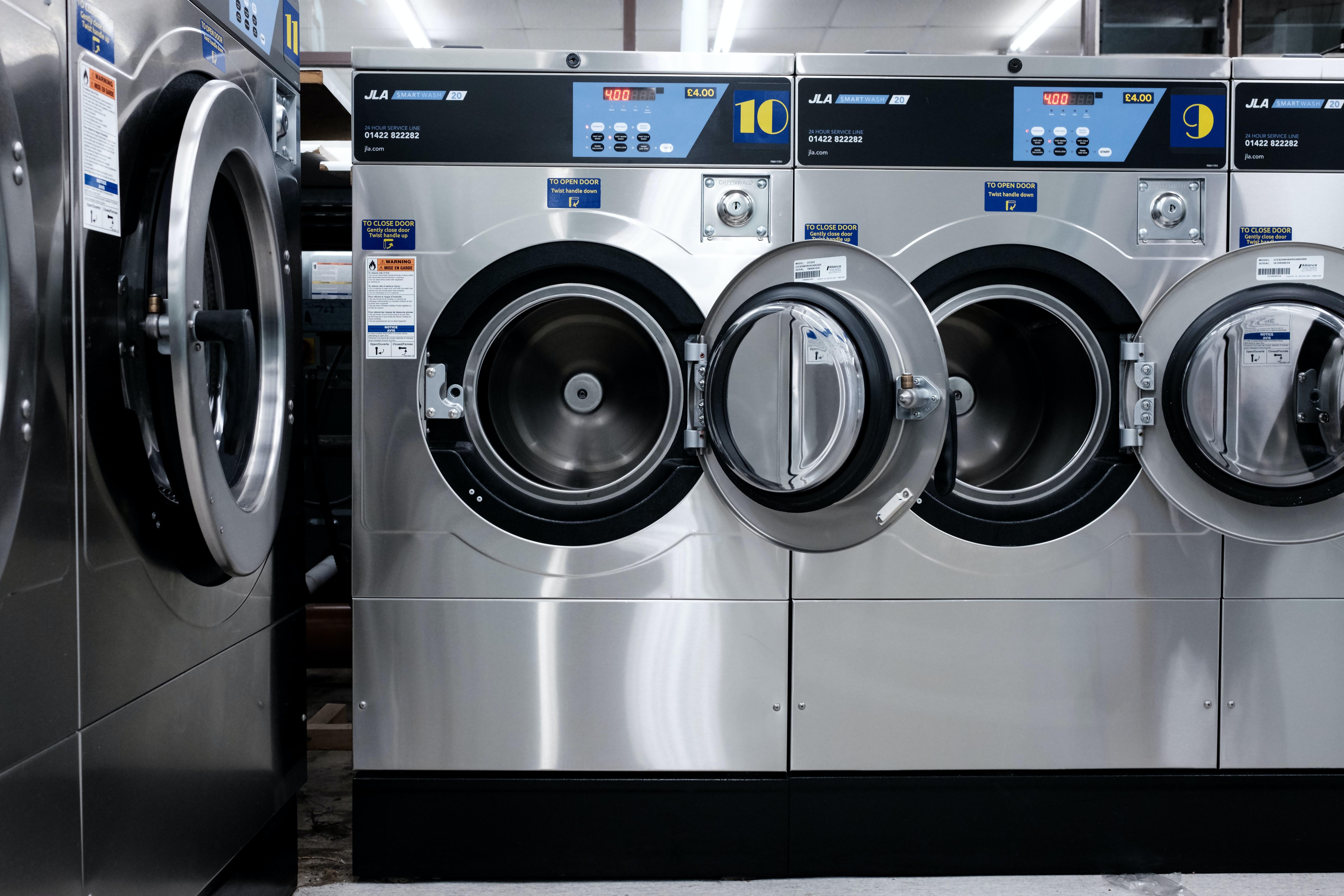 Las lavadoras y secadoras se encuentran entre los electrodomésticos que más consumen - Chippio