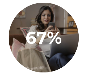 of those surveyed reported creating or consuming TikTok content.