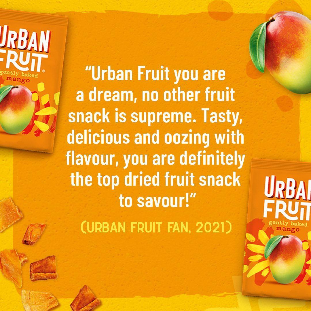 Happy Friday everyone �🎉 Here is a little poem from one of our Urban Fruit fans 🥭 🧡 � � #urbanfruit #urbanfruituk #vegansnacking #vegansnacks #eatmoredriedfruit #love #poetandyoudidntknowit