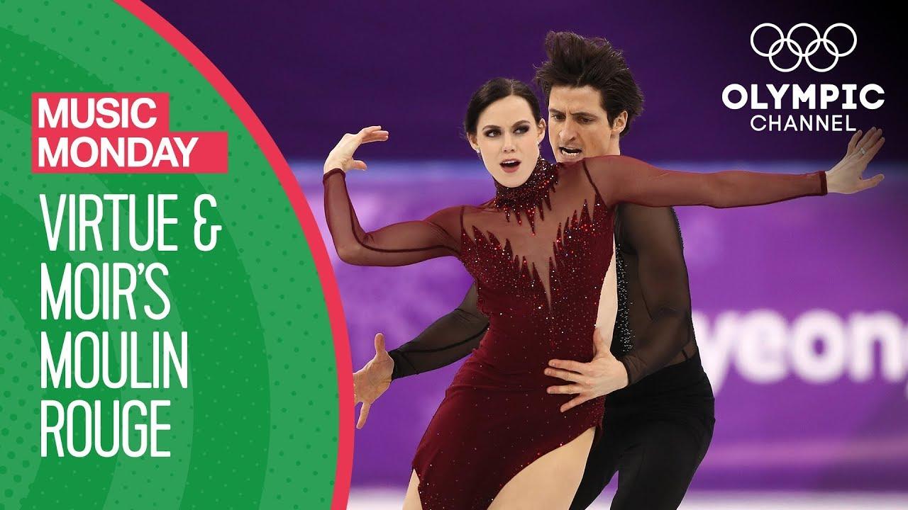 Tessa Virtue and Scott Moir's Moulin Rouge at PyeongChang 2018   Music Mondays