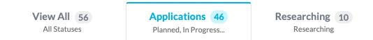 Applications tab selected