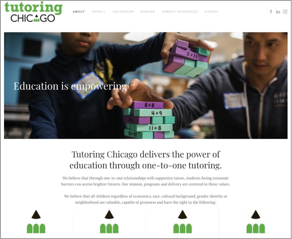 Tutoring Chicago Mission
