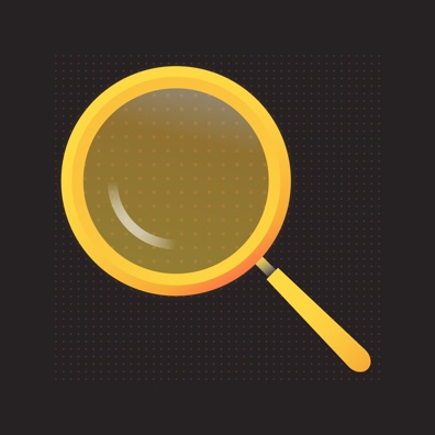 Image of a magnifying glass